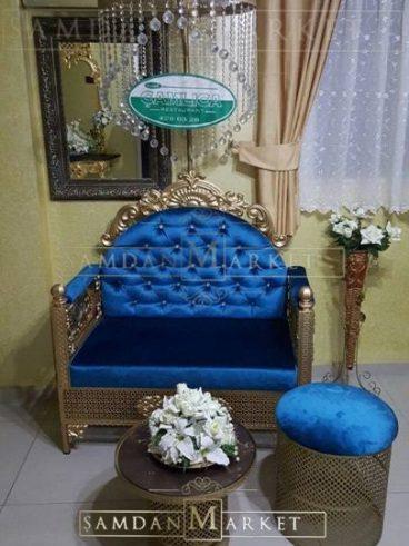 Kına Tahtı Model 32 Mavi Set