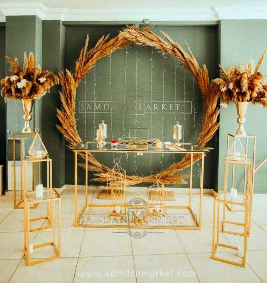 Dörtgen Masalı Nişan Masası Seti