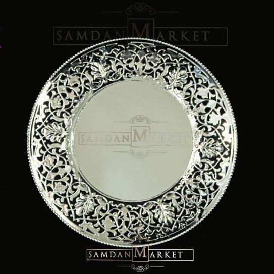 Desenli Gümüş Supla