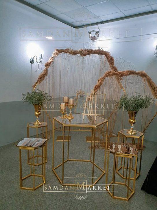 Altıgen Masalı Nişan Seti